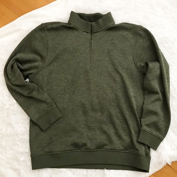 Under Armour Other - Under Armour Pullover Sweater Olive Green Heather